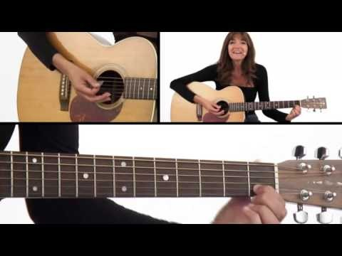 How to Play Single Notes – Beginner Guitar Lesson – Susan Mazer