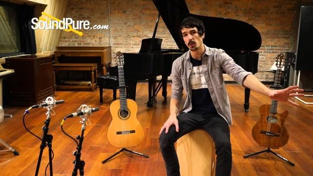 Classical Guitar Recording Technique: Recording Acoustic & Acoustic/Electric Classical Guitars