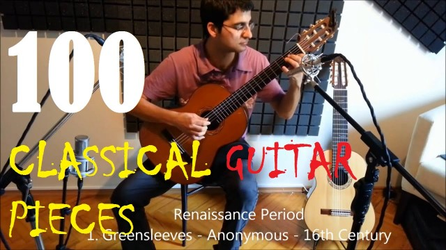 100 Classical Guitar Pieces – History of the Classical Guitar