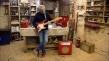 James May playing the Electric Guitar